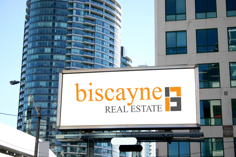 Biscayne Real Estate billboard